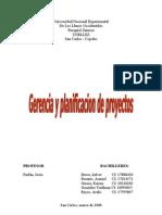 Gerencia y Planificacion de Proyectos 2