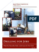 Drilling for Jobs What Marcellus Shale Could Mean for NY