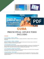 Fiesta de Solteros en Cuba