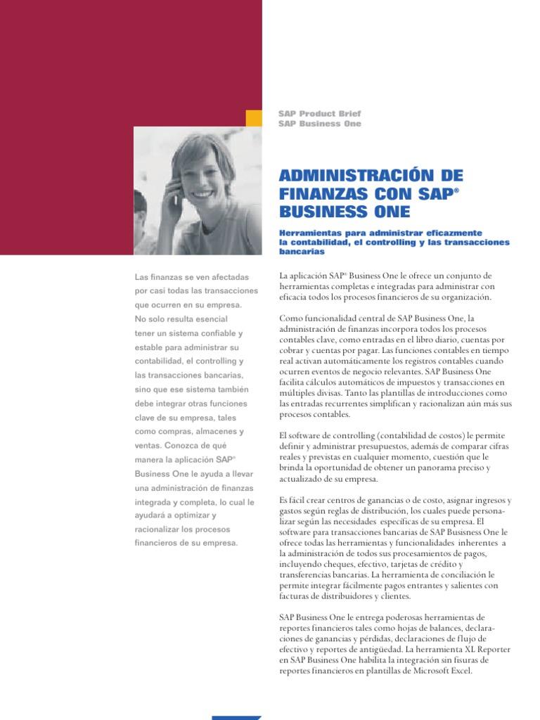 Financials Management Esp