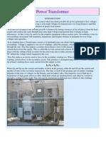 Power Transformer Basic Design
