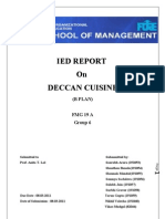 IED Report