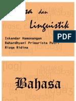Bahasa Dan Linguistik