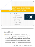 Kesenian Tradisional dan Modern Indonesia
