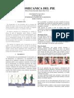 Biomecanica Del Pie
