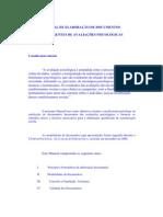 MANUAL DE ELABORAÇÃO DE DOCUMENTOS