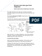 How to Build Your Own Stun Gun From Schematic Diagrams