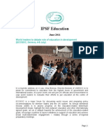 IPSF Education Monthly Update_June 2011