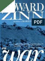 Howard Zinn - Zinn on War - EXCERPT