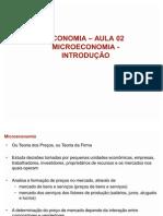 ECONOMIA MICROECONOMIA INTRODUÇÃO AULA  02