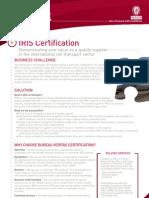 IRIS Certification BD