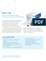 Fast-Trap Adenovirus and Lentivirus Virus Purification and Concentration Kit