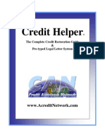 Credit Helper Book