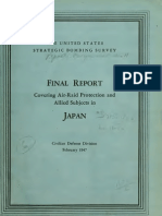 USSBS Report 11, Final Report Covering Air-Raid Protection and Allied Subjects in Japan, OCR