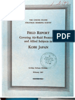 USSBS Report 7, Field Report Covering Air Raid Protection and Allied Subjects, Kobe, Japan, OCR