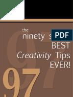 Best Creativity Tips Ever