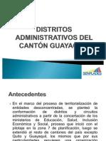 Distritos Administrativos Guayaquil - Mayo-2011(2)