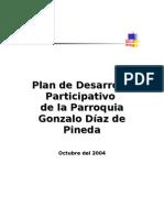 Plan de Desarrollo Gonzalo Díaz de Pineda
