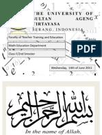 Pembelajaran Tradisional vs Pembelajaran Konstruktivis dalam Matematika