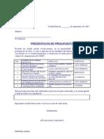 COOPERATIVA PRESENTACIÓN DE PRESUPUESTO DE OBRA