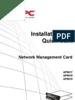 APC Ap9617 Users Manual