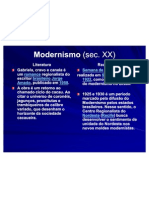 8 Modernismo (Sec