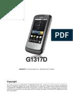 User Manual - GSmart G1317D English Version
