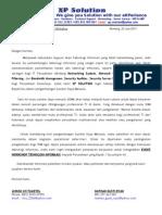 Proposal Kerjasama Workshop PT BADAK NGL