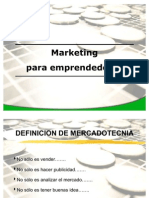 3. Marketing (4P) Proc. de Compra y Vta