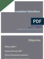 Presentation Interface
