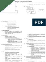 Nitrogen Compounds Revision