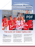 Xaverian Mission Newsletter August 2011