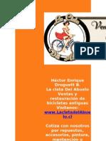 1960s - La Cleta Del Abuelo - Restauracion Bicicletas Antiguas