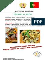 Feria en Honor a Portugal
