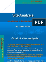 Site Analysis Example