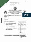 Percubaan UPSR 2011 - Sains Kertas 1