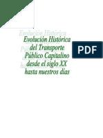 Evolución Histtórica del Transporte Público