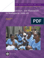 Health, Nutrition, and Population in Madagascar, 2000-09