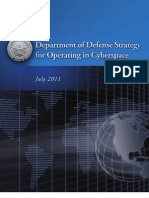 DoD Strategy for Operations In Cyberspace