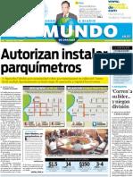 Portada El Mundo de Orizaba 14 Jul2011