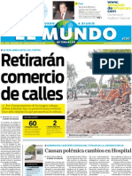 Portada El Mundo de Tehuacán 14jul2011