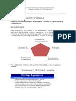Instrucciones Para Desarrollar El Analisis de Riesgo Por Area de Gestion Estrategica