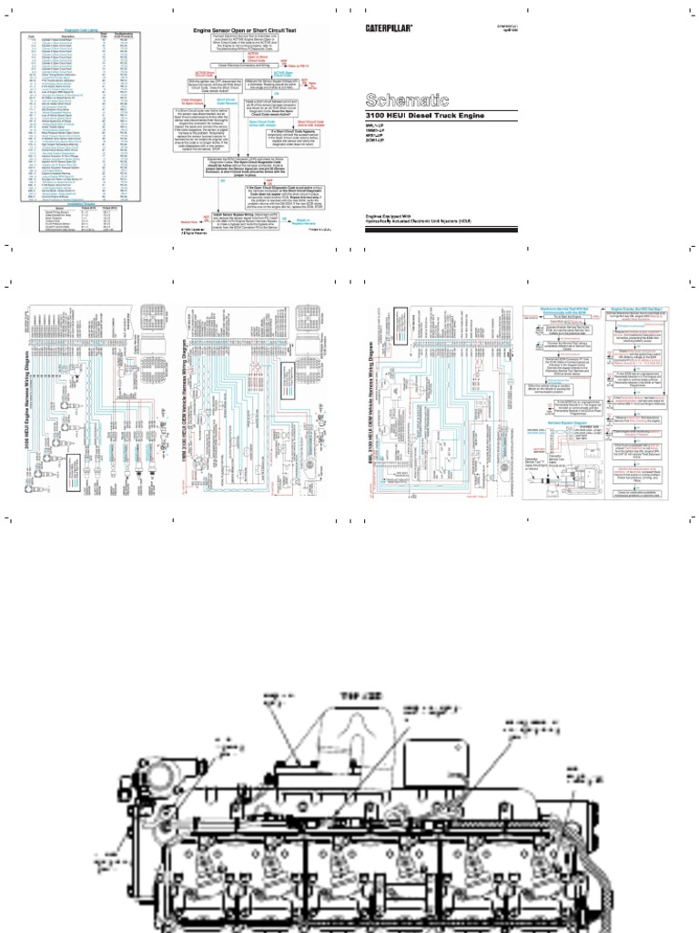 Lovely Cat 3126 Ecm Wiring Diagram Ideas Electrical and Wiring
