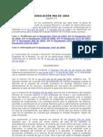 RESOLUCIÓN 966 DE 2004
