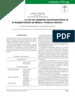 Farmacos Polarizantes y No Despolarizantes