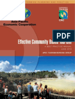 APEC Effective Community Based Tourism WEB