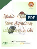 Estudio Actualizado -Migraciones Laborales en La CAN