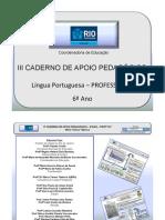 6AnoLPortuguesaProfessor3CadernoNovo