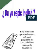 En anglès?