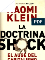 Naomi Klein - La Doctrina Del Shock